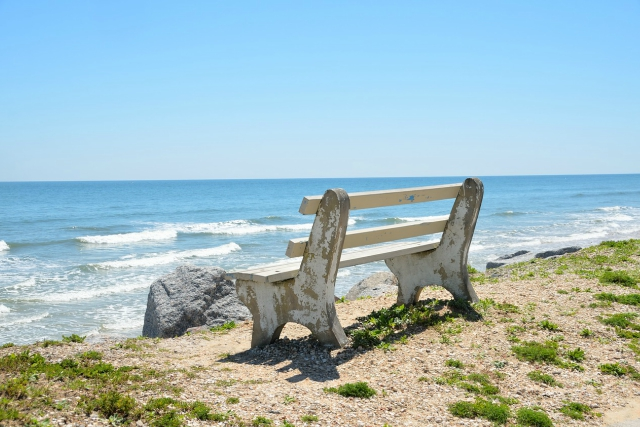 Peace House River Punta Gorda Bench Sitting by the Sea